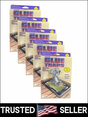 Pack of 20 Disposable Glue Trap for Mice Rats Mouse Super Stick Tray Made in USA