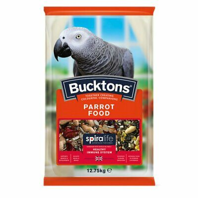 Bucktons Parrot Feed with Spiralife - 12.75kg