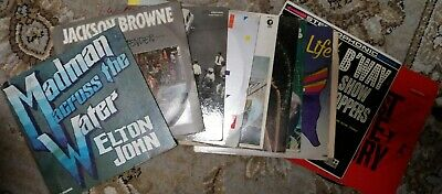 Lot Of 10 Records For Arts And Crafts