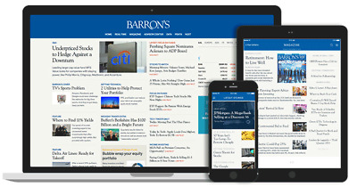 Barrons News 5-Year Digital Subscription for PC, Android and Iphone