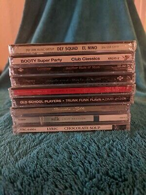 Cd Lot-You Pick!-Late 90's-Early '00 Hip Hop, Funk/Soul, R&B- CDs New/Sealed