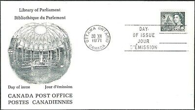 Canada   # 544     QUEEN ELIZABETH II     Brand New 1971 Unaddressed Cover