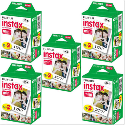 Instax Mini Instant Film Mini 90 8 25 7S Instant Camera SP-1 100 Sheets Fujifilm