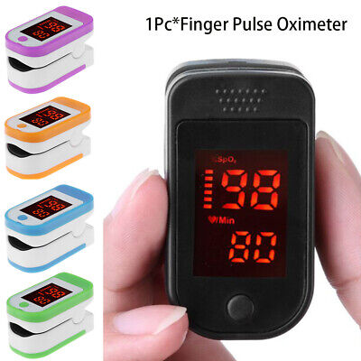 Professional Finger Pulse Oximeter Fingertip Blood Oxygen Saturation Monitor