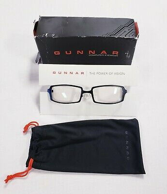 New Gunnar Optiks Anime Computer/Digital Eyewear Glasses Crystalline Lens - Onyx