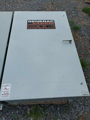 '00 200A Amp Generac ATS Automatic Transfer Switch 120/208v Tested
