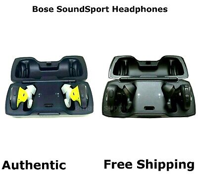 Authentic Bose SoundSport Free Truly Wireless Sport Headphones Black/ Blue