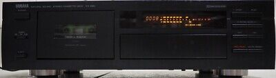 Yamaha KX-580 Cassette Tape Deck with Dolby S and Remote