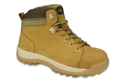Nubuck Hiker Honey 8 81008 Contractor Genuine Top Quality Product New