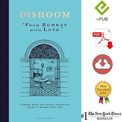 DISHOOM From Bombay With Love Cookery Plus A Gift 🎁 P-D-F