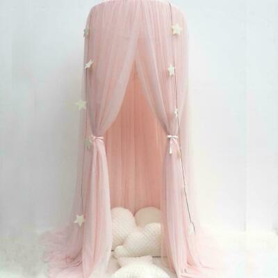 Pink Hanging Dome Children's mosquito net Canopy Bedcover