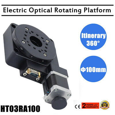 Industrial Automation 360° Precision Electric Optical Rotating Platform 100mm