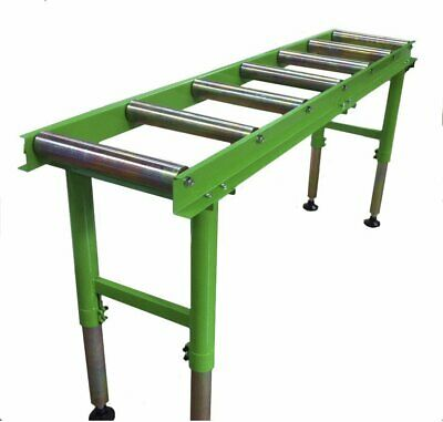 2 Metre Heavy Duty Workshop Roller Table - 7 Rollers - Excellent Value