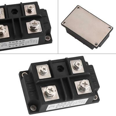 2 pcs 400A 1600V Single-Phase Diode Bridge Rectifier 4 Terminals High Power New