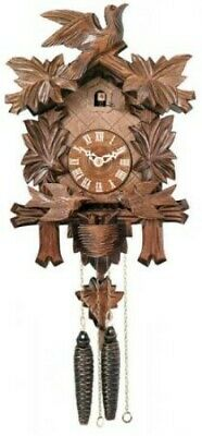 NEW OPEN BOX  - Genuine Black Forest CUCKOO CLOCK 13 Inches Tall - Model # 15-13
