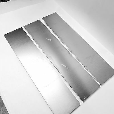".375"" thick 6061 Aluminum PLATE  5.375"" x 22.5"" Long QTY 3 Flat Stock sku180002"