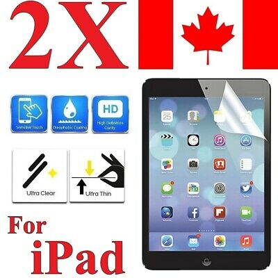 [2 Pack] - Screen Protector Cover for iPad 9.7 12.9 Air Mini 1 2 3 4 5 2017 2018