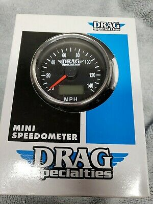 Chrome 1:1 Speedometer With Black Face