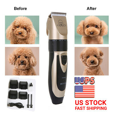 Pet Dog Electrical Hair Trimmer Shaver Professional Hair Clippers Grooming Tool