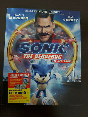 Sonic the Hedgehog 2020 - BLU RAY SIZE - SLIPCOVER ONLY - NO DISC