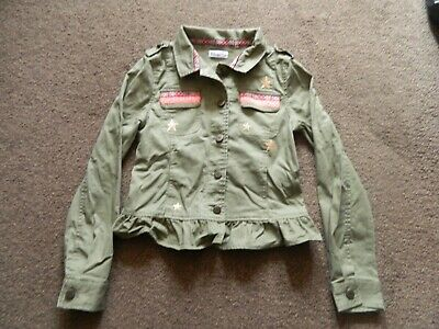 Girls Khaki Funky Jacket bought from USA, Epic Threads - L approx. age 10-11 yrs