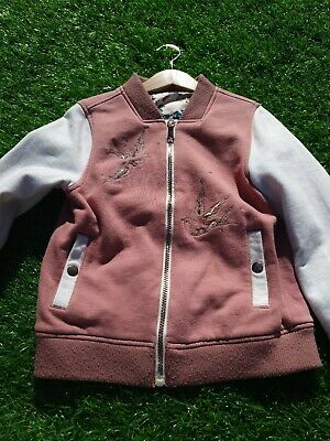 Girls  John Lewis Reversable Bomber Jacket. Age 8