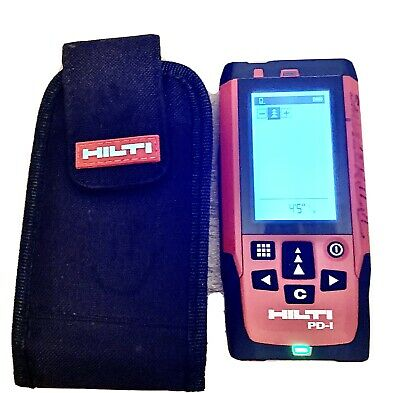 Hilti PD-I Laser Range Distance Meter Pulse Power with Pouch