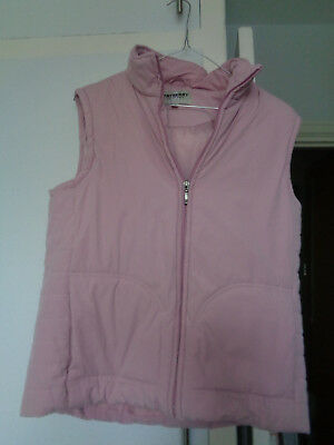 Ladies, girls gilet pink size S Tayberry Company body warmer