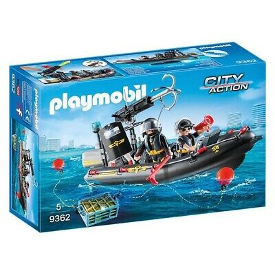 Playset City Action - Special Forces Motorboat Playmobil 9362