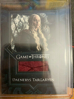 2019 Rittenhouse Game of Thrones Inflexions VR9 Daenerys Targaryen Cape Relic