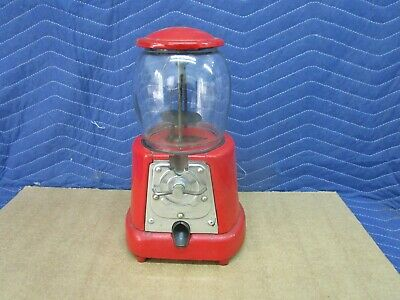 1920's Advance Penny One Cent Gumball Vending Machine Model D