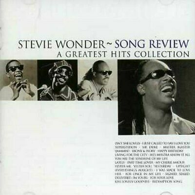 Stevie Wonder - Song Review: A Greatest Hits Collection [CD] Best Of Gift Idea