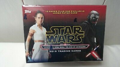 2019 Topps Journey To Star Wars The Rise Of Skywalker Blaster Box Patch Card 15 99 Picclick