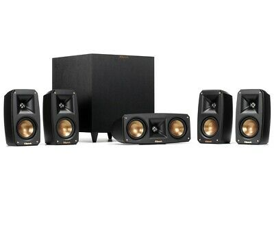 Klipsch Reference Theater Pack 5.1 Channel Surround Sound System (#1064177)