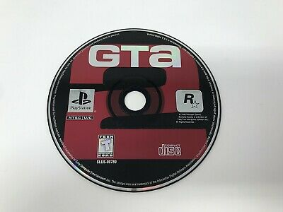 Grand Theft Auto GTA 2 - Sony Playstation 1 PS1 PS ONE - Disc only -