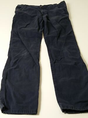 Boys Marks & Spencer Blue Adjustable Waist Chino Jeans Trousers Age 12-13 Years