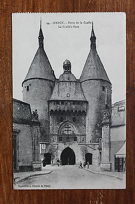 Carte postale ancienne CPA NANCY - Porte de la Craffe