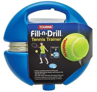 Fill n Drill Tennis Practice Trainer.
