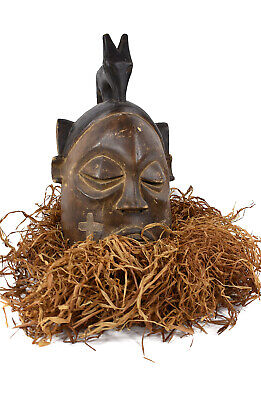 Suku Helmet Mask Congo African Art Collection