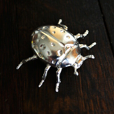 Barrelly Living - Lady Bug - 2.03 T.O. 999 fine silver - #34 of open