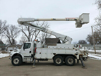 2005 Freightliner M2106 Altec 60' Over Center Material Handler Bucket Boom Truck
