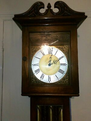 Antique old charm Grandfather clock and Kieninger operation