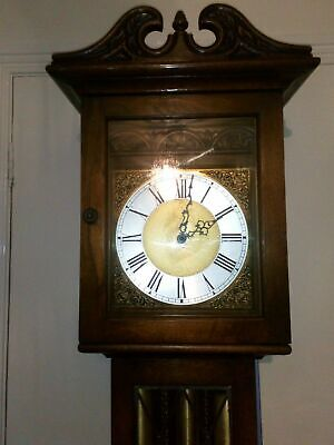 Antique old charm Grandfather clock and Kieninger
