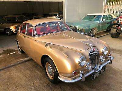 Jaguar MK2, 3.4/340 manual with overdrive, power steering, good useable car.