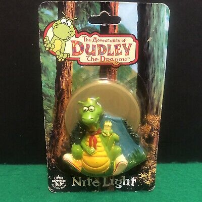 The Adventures of Dudley The Dragon Nite Night Light MOC 1994
