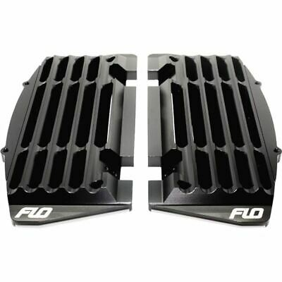 Flo Motorsports High Flow Radiator Braces - FLO 753BLK