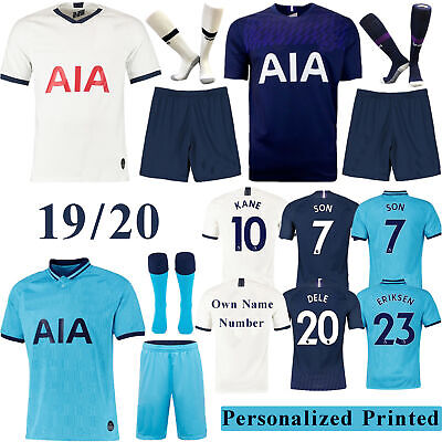 19/20 Football Home/Away Full Kit Kids Youth Training Jersey Sport Outfits+Socks
