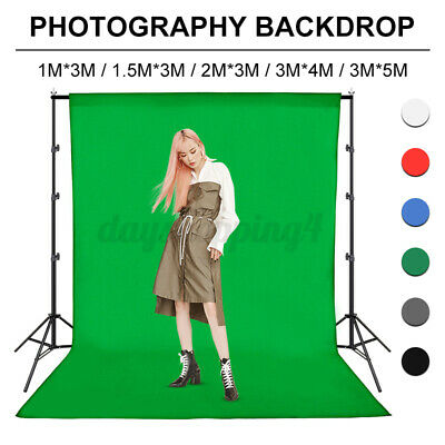 3*5M Photography Background Green Cotton Chromakey Screen Muslin Backdrop Studio