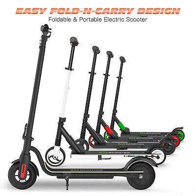 Megawheels Portable Electric Scooter Adult Folding Kick E-Scooters 250W 23KPH