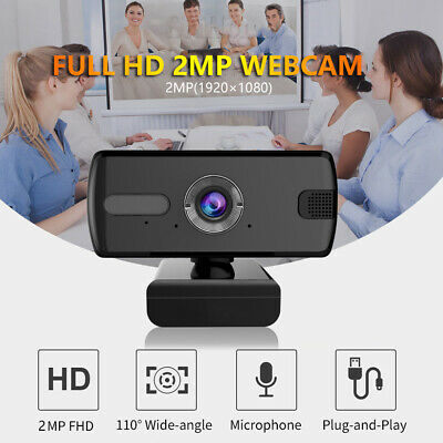 USB Web Camera 1080P 360° Webcam with Microphone,Video for computer  Laptop PC